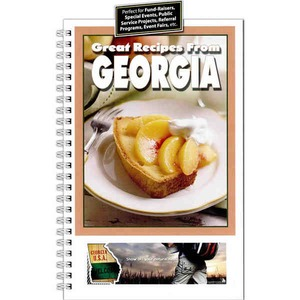 Custom Printed Georgia State Cookbooks
