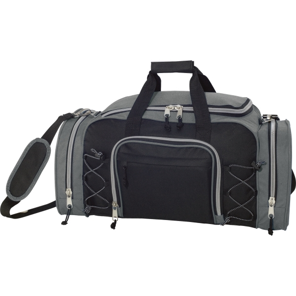 1 Day Service Waterproof Duffel Bags, Custom Designed With Your Logo!