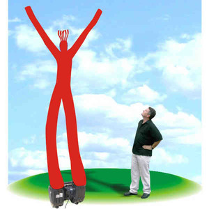 Giant Waving Display Men, Custom Imprinted With Your Logo!