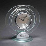 Custom Decorated Glass Clocks
