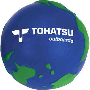 Custom Printed Globe Stress Balls