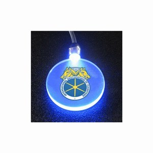 Custom Imprinted Circle Shaped Glowing Necklaces