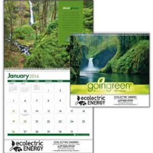 Custom Printed Going Green Appointment Calendars