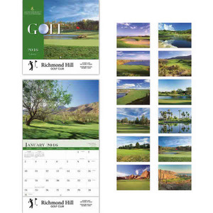 Custom Printed Golf Appointment Calendars