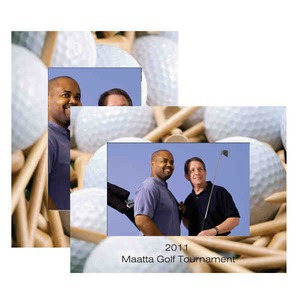 Golf Paper Picture Frames, Custom Made With Your Logo!