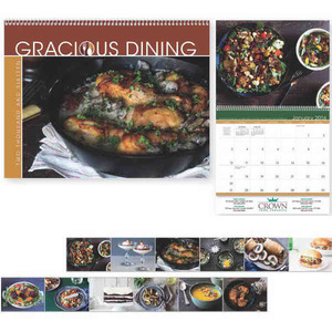 Custom Printed Gracious Dining Appointment Calendars