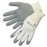 Custom Printed Gray Knit Gloves