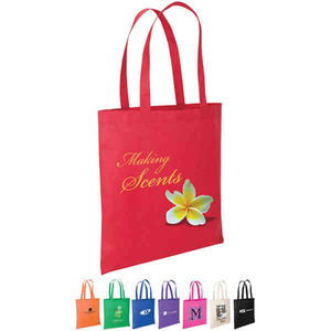 Custom Imprinted Green Color Tote Bags