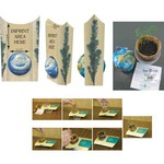 Personalized Green Environmentally Friendly Growing Kits