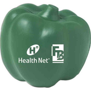 Custom Imprinted Green Pepper Stress Relievers