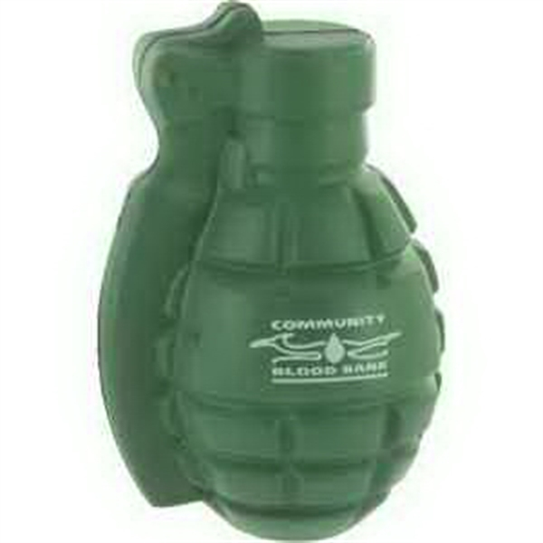 Custom Imprinted Army Hand Grenade Squeezies