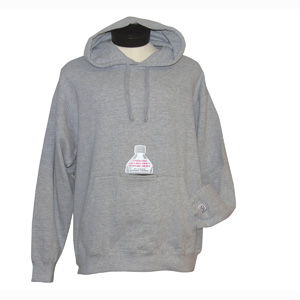 Insulated Bottle Pocket Hoodie Sweatshirts, Screen Printed With Your Logo!