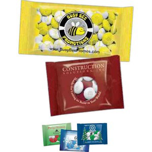 Custom Printed 1/2oz. Full Color Imprint M&M Chocolate Candy Packages