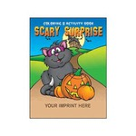 Personalized Halloween Holiday Coloring Activity Books