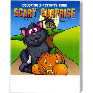 Custom Printed Halloween Holiday Coloring Activity Books