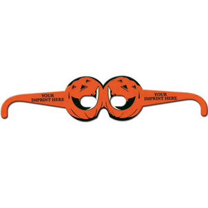 Halloween Holiday Paper Glasses, Custom Made With Your Logo!