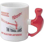 Customized Hammer Handle Shaped Mugs