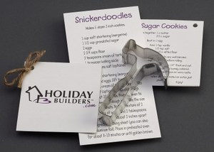 Custom Printed Hammer Stock Shaped Cookie Cutters