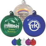 Custom Imprinted Hand Blown Glass Ornaments