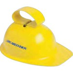 Custom Imprinted Hard Hat Cowbells