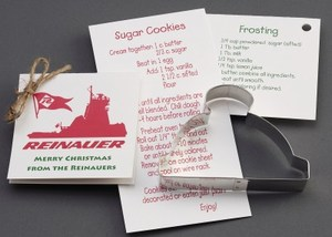 Custom Imprinted Hat Stock Shaped Cookie Cutters
