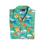 Custom Imprinted Hawaiian Tropical Camp Shirts
