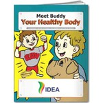 Personalized Healthy Body Themed Coloring Books