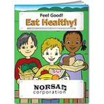 Custom Made Healthy Eating Themed Coloring Books