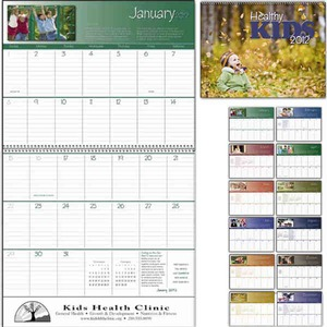 Custom Printed Healthy Kids Appointment Calendars