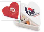 Custom Decorated Heart Shaped Pill Boxes