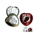 Custom Printed Heart Shaped Tins