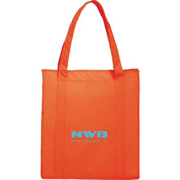 1 Day Service Redwood Tote Bags, Custom Designed With Your Logo!