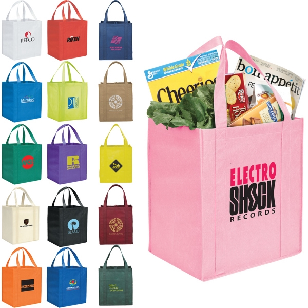 Custom Printed 1 Day Service Reusable Tote Bags
