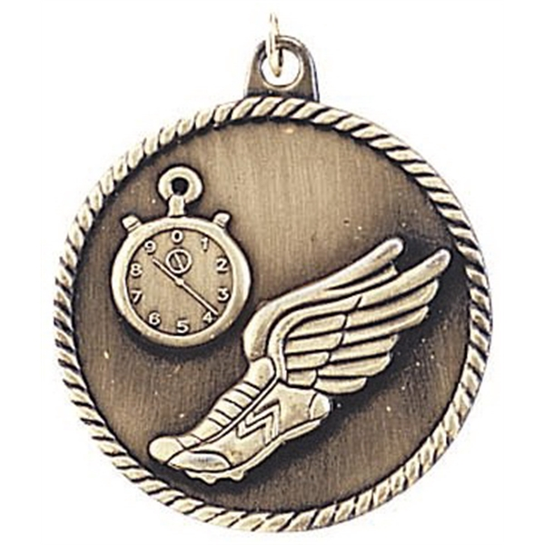 Cheerleading High Relief Medals, Customized With Your Logo!