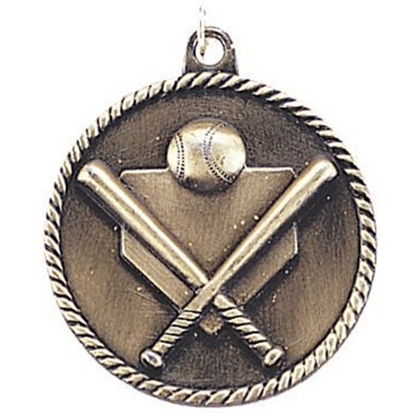 Custom Printed Softball High Relief Medals
