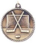 Custom Printed Hockey High Relief Medals