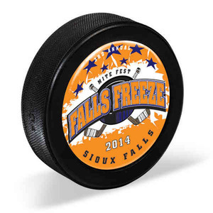 Hockey Pucks, Custom Imprinted With Your Logo!