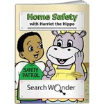 Custom Printed Home Safety Themed Coloring Books