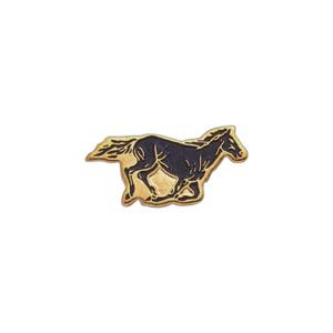 Horse Mascot Pins, Custom Imprinted With Your Logo!