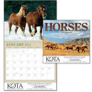Custom Printed Horses Appointment Calendars