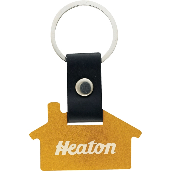 Custom Printed 1 Day Service House Shaped Key Tags