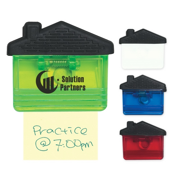 Custom Printed Canadian Manufactured House Magnetic Memo Clips