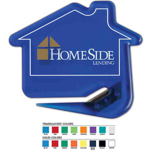 Custom Printed House Shaped Letter Slitters For Under A Dollar