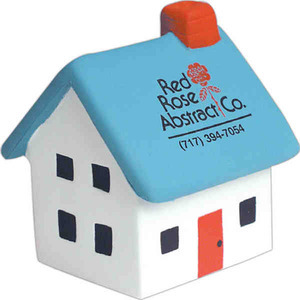 Custom Printed House Stressball Squeezies