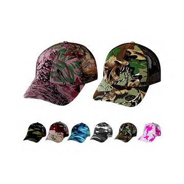 Custom Imprinted Hunting Sport Camouflage Caps