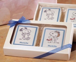 Custom Printed Iced Shortbread Cookie Gift Boxes