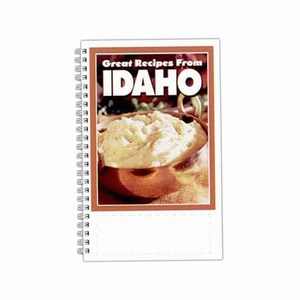 Custom Printed Idaho State Cookbooks
