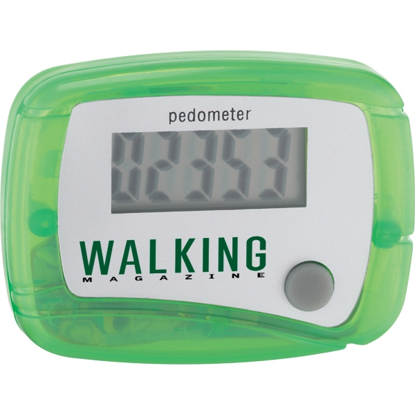 1 Day Service Step Count Pedometers, Custom Made With Your Logo!