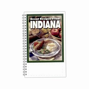 Custom Printed Indiana State Cookbooks