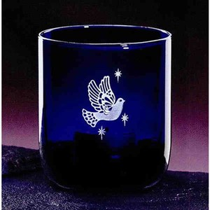 Indigo Votive Crystal Gifts, Custom Printed With Your Logo!
